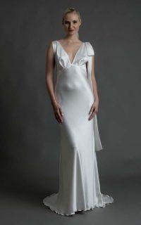 Grace €2450 long silk bow €350