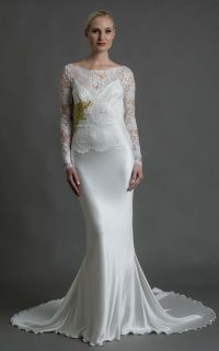 Deirdre €3850 (with gold leaf €3950) veil €150